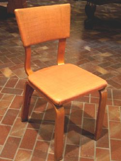 "COOL ""MOD"" BENTWOOD CHAIR - MID-CENTURY MODERNISM MOVEMENT"