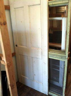NEW DOOR - SOLID WOOD 6 PANEL INTERIOR