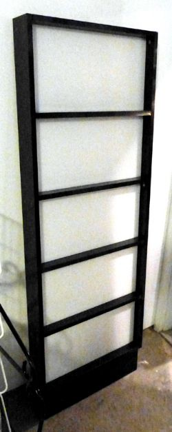 JAPANESE PRIVACY PANEL - PLEXIGLASS AND WOOD