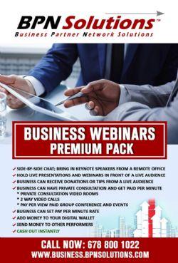 Business Webinars Premium Pack